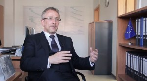 EULEX Deputy head of Strengthening Division, Martin Cunningham, explains his daily work and challenges he faces while doing his job in Kosovo.
